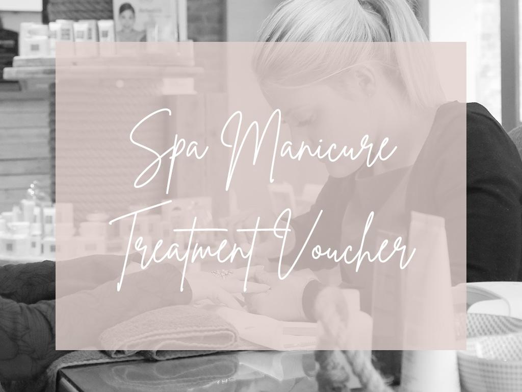 Spa Manicure Treatment Voucher Image