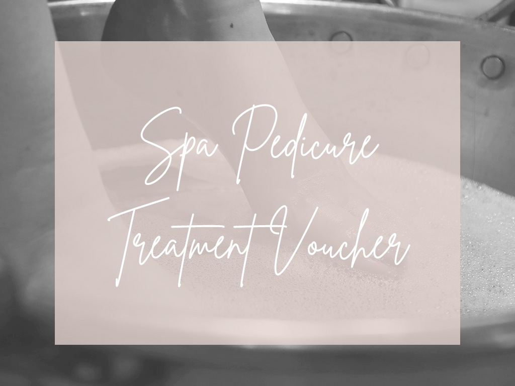 Spa Pedicure Treatment Voucher Image